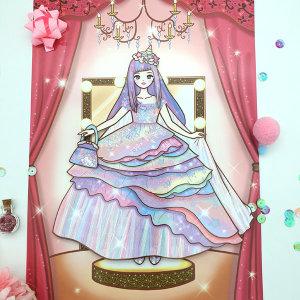 예뿍이의 종이인형 드레스 세트 종이구관