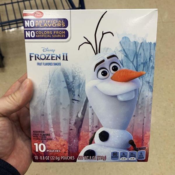 베티 크로커 디즈니 겨울왕국2 과일 젤리세트 10봉지