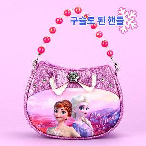 겨울왕국 여아 키즈 가방 크로스백 핸드백 샤이니퍼플