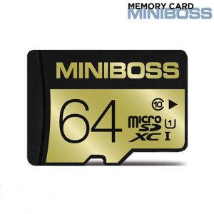 미니보스 마이크로SD 64GB TLC Class10