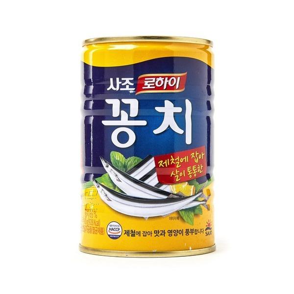 사조 로하이 꽁치 통조림 찌개 탕 400g