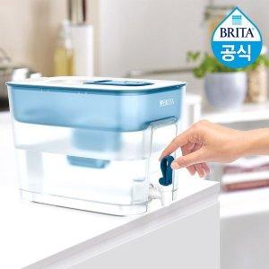 필터형정수기 브리타 플로우 8.2L 블루+필터1개월분