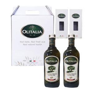 올리타리아 올리브오일 1L X 2P 세트 설 명절선물세트