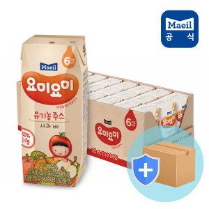 요미요미 사과배 유기농주스 125ml24입/아기간식