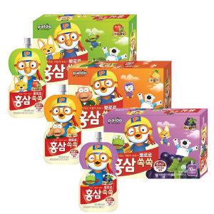 팔도 뽀로로 홍삼쏙쏙 100mlx20개/3종/아기홍삼음료
