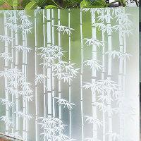 창문 시트지 (DSH-0201) 대나무숲 /92cm