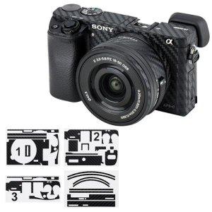 JJC KS-A6000CF 카본 필름 소니 A6000+16-50mm