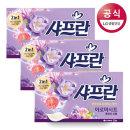 샤프란 시트 섬유유연제 후레쉬드림 30매 3팩