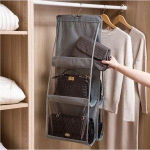 가방걸이 정리함 보관함 3단 핸드백 니트 수납 옷걸이