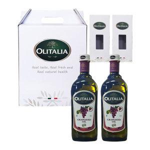 올리타리아 포도씨유 1LX2P 설 추석 명절선물세트