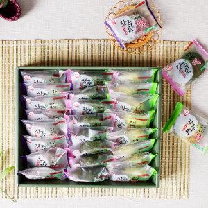 서천장터 장수록 모시모찌떡 선물세트(3종 24개)