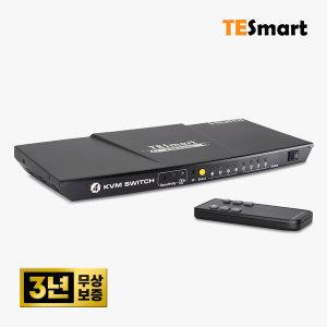 티이스마트 4포트 HDMI KVM 스위치