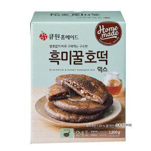 큐원 흑미 꿀호떡믹스 400g x 3입