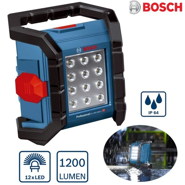 BOSCH 베어툴 LED작업등 18v 1200C/1200LU 충전작업등