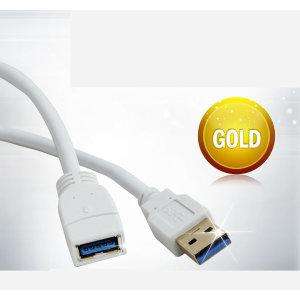마하링크 USB 3.0 M/F 연장 케이블 1M ML-U3F010