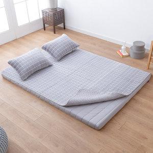 (이:슬립)  굿모닝 라텍스 침대패드 + 라텍스 누빔 베개 커버