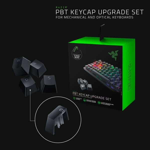 PBT Keycap Set (Classic Black) 레이저 PBT키캡