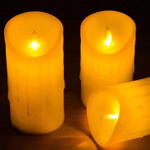 파라핀 LED 양초 전기촛불 티라이트 중형