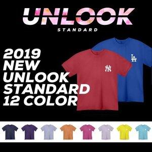언룩 남녀공용 30수 칼라 티셔츠 / 12color(~3XL)