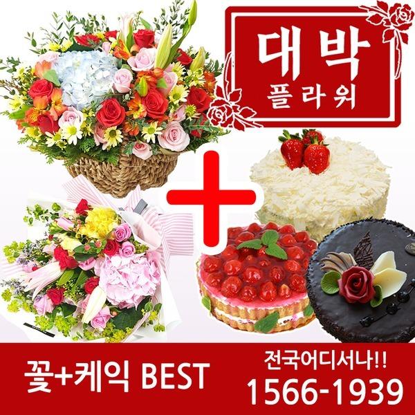 2020 꽃+케익 생일선물 기념일 축하선물 전국꽃배달