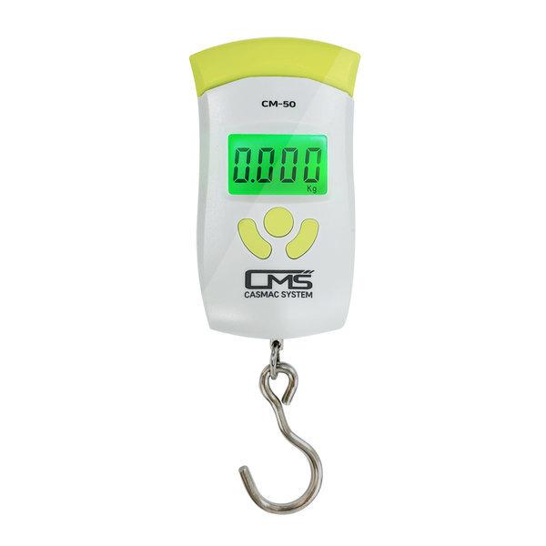CMS 여행용 디지털 손저울 CM-50 휴대용 캐리어 낚시