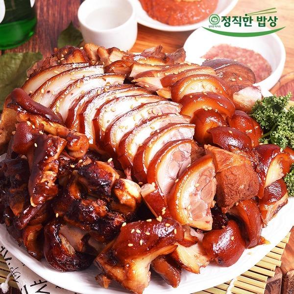 정직한밥상 흑마늘 왕족발 1kg내외 맛있는 재구매1위