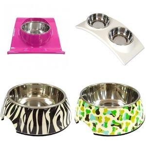 애견급식기 사료 그릇 애완동물 강아지 고양이 반려견