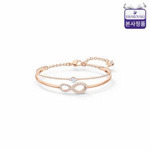 (현대백화점) 스와로브스키/본사정품  Swa Infinity 체인 로즈골드 팔찌 M 5518871