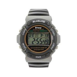 플러스비보이999BK손목시계 전자시계 군인시계 학생시