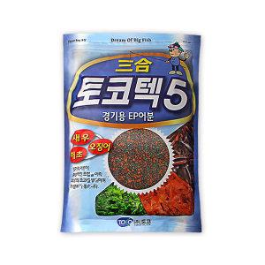 토코 토코텍 5 삼합 미끼 민물 낚시 떡밥