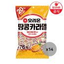 오리온 땅콩카라멜 봉투 328gx14개(1박스)