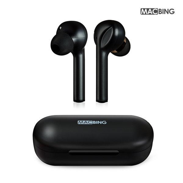 끊김없는 완전무선 블루투스이어폰 맥빙 MX730블랙