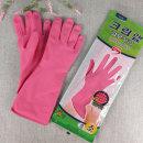 크린랩 고무장갑 es 소 (S) 분홍 1개 주방장갑