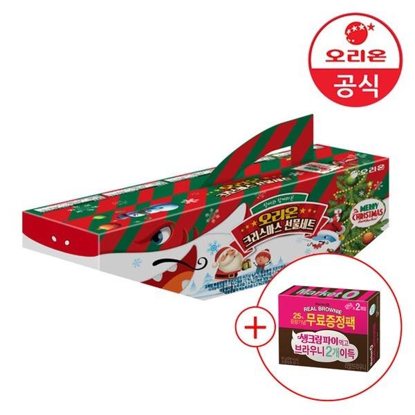 오리온 상어패밀리 선물세트 크리스마스 591g +사은품