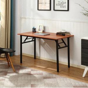 더준 접이식 테이블 책상 식탁 다용도 회의용 80
