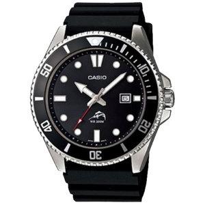 카시오 MDV-106-1A 다이버 손목시계 흑새치 남성 방수