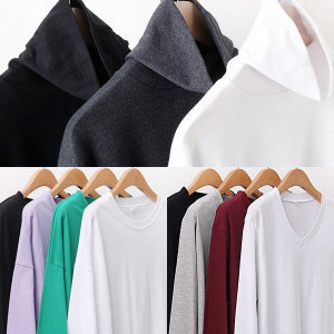 겨울 빅사이즈 긴팔 티 셔츠 66~120 폴라 여성 모음