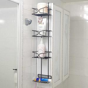 거치식 틈새 욕실선반 욕실장 정리대 칫솔걸이