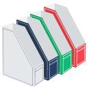 OEM 상품 A4 박스화일 라인 파일박스 책꽂이 서류