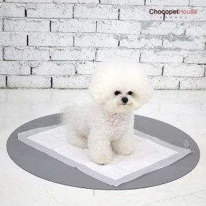 배변혁명 항균 논슬립클린매트 강아지배변판 원형소형