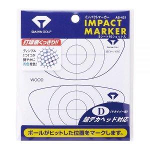 다이야골프 Driver용 임팩트마커 AS-421 일본타점마커