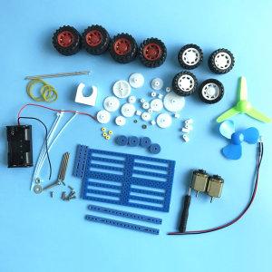 92종 기어와 모터 만들기 키트 DIY 플라스틱 기어 톱