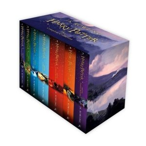 영어원서  Harry Potter 1-7 Boxed Set 영국판