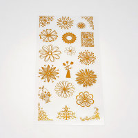 꽃말 인쇄소 팬시 화려한 스티커 다꾸 인스 데코