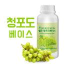 쉘몬 과일농축액에이드베이스 1kg 청포도 스무디/주스