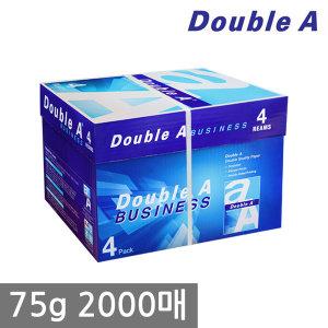 더블에이 A4 복사용지(A4용지) 75g 2000매 1BOX