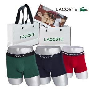 라코스테 남성속옷 드로즈3종모음 홈쇼핑제품
