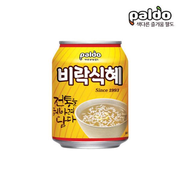 팔도 비락식혜 238mlx6캔/식혜캔/캔음료/무료배송