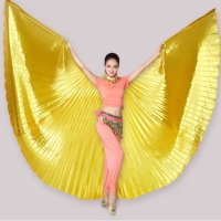 밸리 댄스 날개 박나래 황금 망토 코스프레 날개