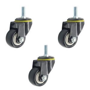 바퀴 캐스터 2.5인치 우레탄 볼트형바퀴 론칭특가 무배